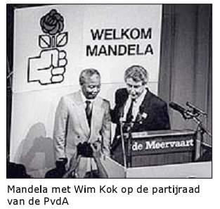 Mandela in 1990